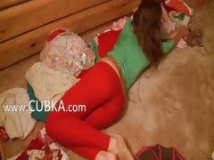 Hot russian shows pink hole...